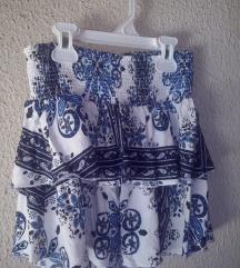 H&M suknjica od viskoze-kao nova