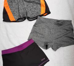 Lot sportskih kratkih hlačica