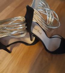 štikle, sandale na petu