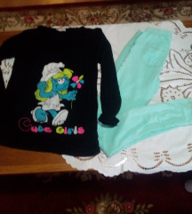 Tajice i majica 158 164