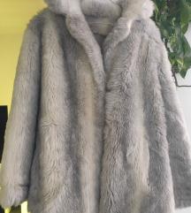 Krznena bunda jakna