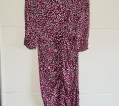ZARA haljina cvjetnog uzorka M