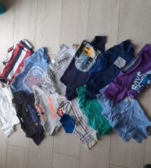 Lot kratkih majica 92