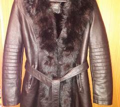 Kožna jakna M L