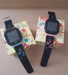 pametni sat za djecu rozi plavi Sim kamera poziv