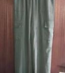 Maslinasto zelene cargo hlače