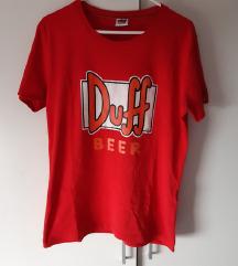 Duff Beer The Simpsons original majica L