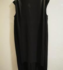 Sisley crna haljina, kao nova
