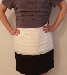 Koktel plisirana haljina