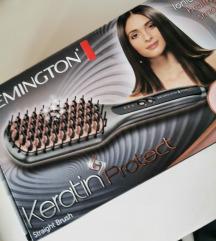 Remington cetka za ravnjanje kose keratin