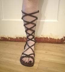 Unikatne kožne sandale -