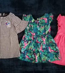 Lot haljina 92-98