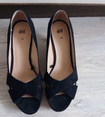 Prodajem otvorene cipele na punu petu