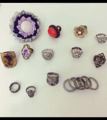 Lot prsteni / PONUDITE CIJENU /