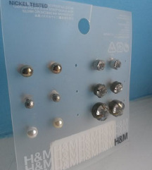 H&M komplet naušnica