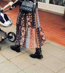 Zara patchwork haljina