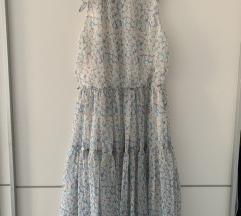 Cvjetna retro romanticna haljina