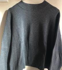 Debeli fino pleteni pulover