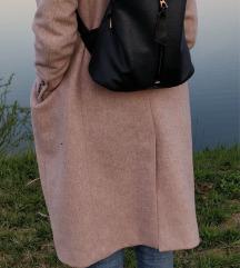 Tamnoplavi ruksak eko koža