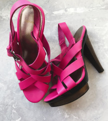 TOPSHOP pink sandale