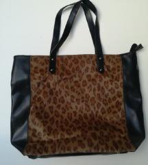 Velika torba animal print leopard