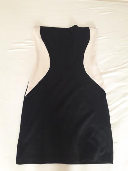 Tezenis crno bijela haljina