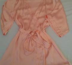 Svileni rozi ogrtač H&M