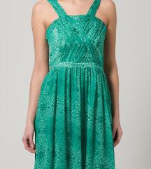 Kiomi zelena haljina