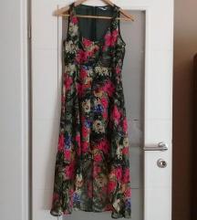 % Waterfall cvjetna haljina S