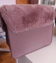 Pastelna pink torba