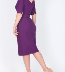 Boss Orange purple dress