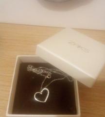 Zaks srebrna ogrlica