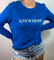 Anywhere blue