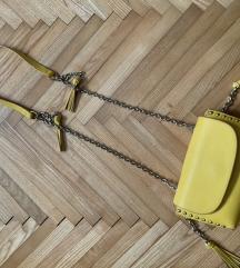 Zara zuta mala torbica