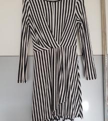 Bershka asimetrična haljina