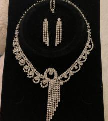 Komplet - naušnice i ogrlica