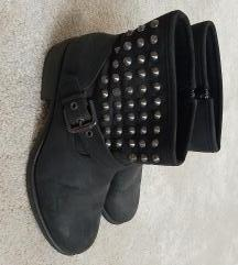 Gležnjerice cipele zakovice Deichman 41