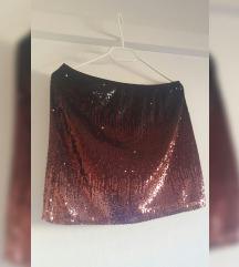 Promod sequin suknja