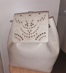 Bijeli ruksak-sniženo