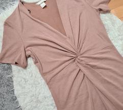 H&M bež haljina