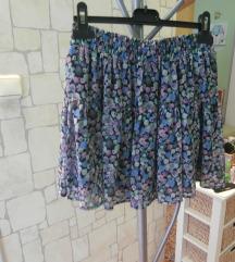 suknja H&M cvjetna