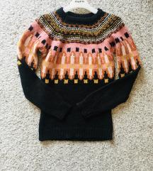 Šareni pulover vel S