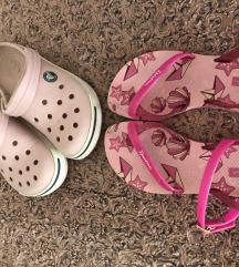 Ipanema i Crocs sandale