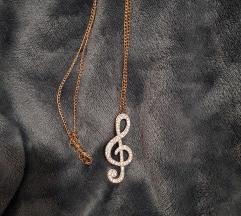 Lančić, violinski ključ