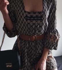 Jesenska haljina + remen