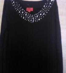 PINKY  Crna pamučna haljinica ,vel xs-20 kn