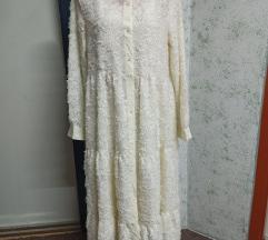 Prekrasna midi haljina sa podhaljinom