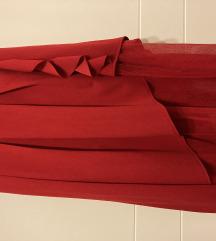 Asimetrična suknja s tilom M