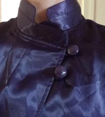 Tamno-ljubičasta košulja/jaknica/bolero