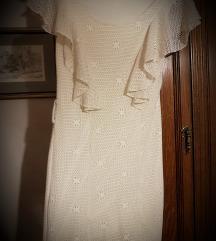 Haljina kratka čipkasta/mini